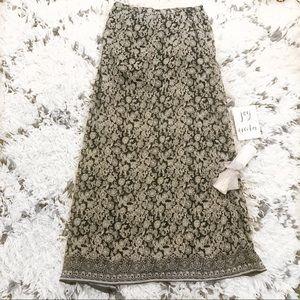 Billabong Printed Maxi Skirt